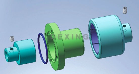 Unthreaded Hole Type Magnetic Coupling