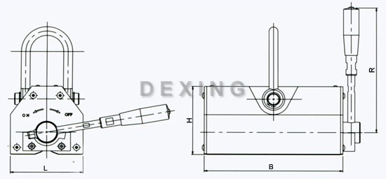magnetic lifter holder
