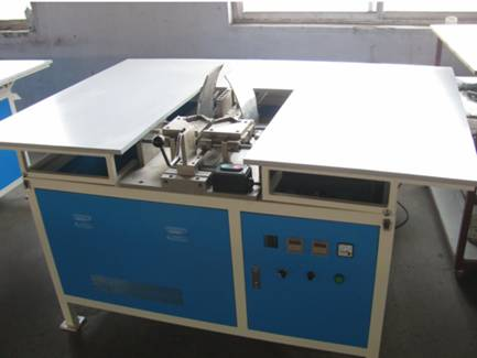 Semi-auto refrigerator door gasket welding machine